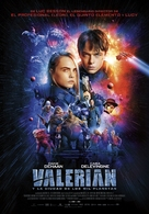 Valerian and the City of a Thousand Planets - Spanish Movie Poster (xs thumbnail)