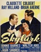 Skylark - British Movie Poster (xs thumbnail)