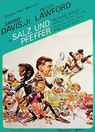 Salt and Pepper - German Movie Poster (xs thumbnail)