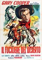 Fighting Caravans - Italian Movie Poster (xs thumbnail)