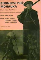 Drums Along the Mohawk - Yugoslav Movie Poster (xs thumbnail)