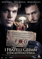 The Brothers Grimm - Italian Movie Poster (xs thumbnail)
