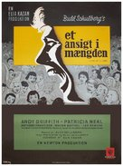 A Face in the Crowd - Danish Movie Poster (xs thumbnail)