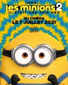 Minions: The Rise of Gru - French Movie Poster (xs thumbnail)
