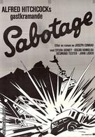 Sabotage - Swedish Movie Poster (xs thumbnail)