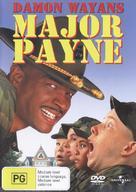 Major Payne - Australian Movie Cover (xs thumbnail)