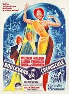 Sunset Blvd. - French Movie Poster (xs thumbnail)