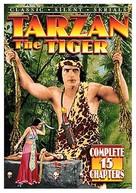 Tarzan the Tiger - DVD cover (xs thumbnail)