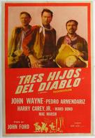 3 Godfathers - Argentinian Movie Poster (xs thumbnail)