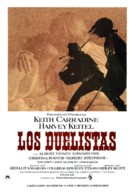 The Duellists - Spanish Movie Poster (xs thumbnail)