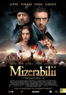 Les Misérables - Romanian Movie Poster (xs thumbnail)