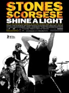 Shine a Light - French Movie Poster (xs thumbnail)