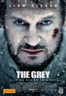 The Grey - Australian Movie Poster (xs thumbnail)