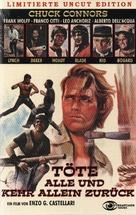 Ammazzali tutti e torna solo - German DVD movie cover (xs thumbnail)