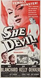 She Devil - Movie Poster (xs thumbnail)