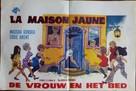 Das gelbe Haus am Pinnasberg - Belgian Movie Poster (xs thumbnail)