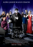 Dark Shadows - Latvian Movie Poster (xs thumbnail)