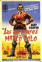 The Adventures of Marco Polo - Spanish Movie Poster (xs thumbnail)