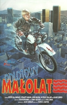 The Dirt Bike Kid - Polish VHS movie cover (xs thumbnail)