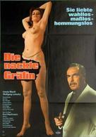 Die nackte Gräfin - German Movie Poster (xs thumbnail)