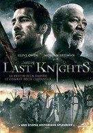 The Last Knights - French DVD movie cover (xs thumbnail)