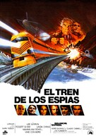 Avalanche Express - Spanish Movie Poster (xs thumbnail)