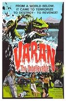 Varan the Unbelievable - British Movie Poster (xs thumbnail)