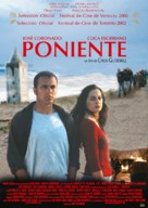 Poniente - Spanish Movie Poster (xs thumbnail)
