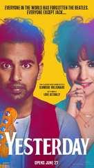 Yesterday - Singaporean Movie Poster (xs thumbnail)
