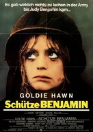 Private Benjamin - German Movie Poster (xs thumbnail)