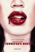 Jennifer's Body - British Movie Poster (xs thumbnail)