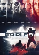 Triple 9 - German Movie Poster (xs thumbnail)