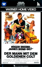 The Man With The Golden Gun - German VHS movie cover (xs thumbnail)