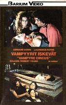 Vampire Circus - Finnish VHS movie cover (xs thumbnail)