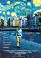 Midnight in Paris - German Movie Poster (xs thumbnail)