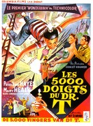The 5,000 Fingers of Dr. T. - Belgian Movie Poster (xs thumbnail)