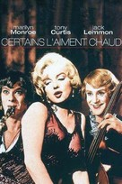 Some Like It Hot - French Movie Cover (xs thumbnail)