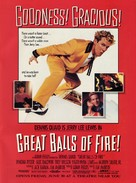 Great Balls Of Fire - Advance poster (xs thumbnail)