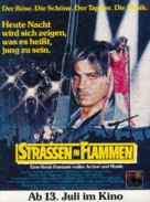 Streets of Fire - German Movie Poster (xs thumbnail)