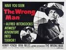The Wrong Man - British Movie Poster (xs thumbnail)