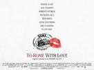 To Rome with Love - British Movie Poster (xs thumbnail)