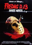 Friday the 13th: The Final Chapter - Danish Movie Poster (xs thumbnail)