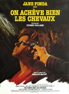 They Shoot Horses, Don't They? - French Movie Poster (xs thumbnail)