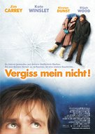 Eternal Sunshine Of The Spotless Mind - German Movie Poster (xs thumbnail)