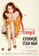 Ladies They Talk About - Swedish Movie Poster (xs thumbnail)