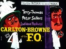 Carlton-Browne of the F.O. - British Movie Poster (xs thumbnail)