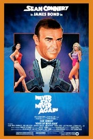 Never Say Never Again - Theatrical movie poster (xs thumbnail)