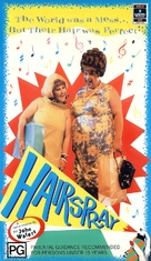 Hairspray - Australian VHS movie cover (xs thumbnail)