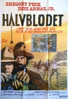 Billy Two Hats - Swedish Movie Poster (xs thumbnail)