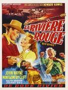Red River - Belgian Movie Poster (xs thumbnail)